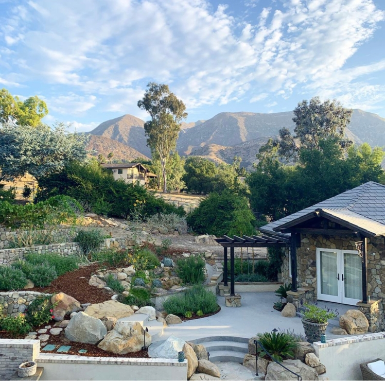 A completely remodeled Estate and grounds in the lovely city of Ojai, California.